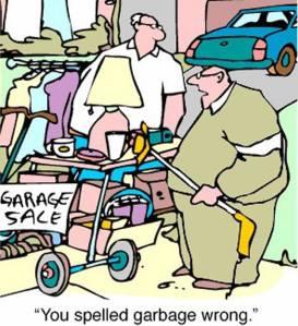 YardSale - Spelled Garbage Wrong